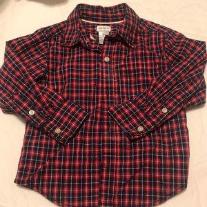 Carter's boys button Down Shirt